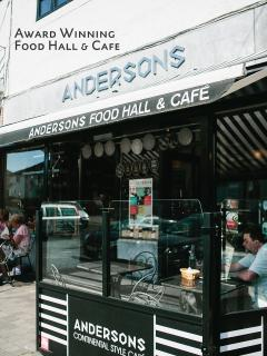 Andersons, award-winning food hall and cafe