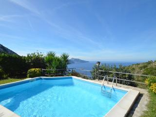 Amalfi Coast VILLA POSIDONIA with private pool,sea view, free parking, wifi