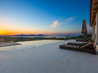 Panoramic sea view from the pool area
