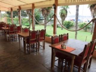 Best barbecue restaurant in town, Rafaelo, is 3 doors down