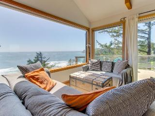 Airy beach home w/ two decks, ocean views - close beach access!