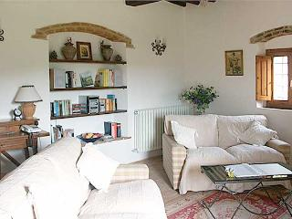 The sitting room has everything you could need. TV, DVDs, books, guides, music ... everything