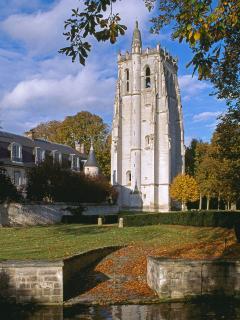 Abbaye du Bec Hellouin à 1/4 h du gîte