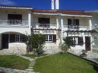 3 bedroom accommodation in 2 adjacent garden apartments at Corfu beach Villa