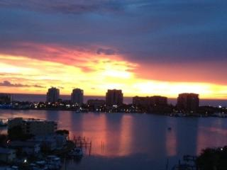 Amazing Sunset over Clearwater Beach