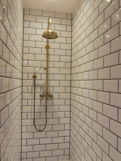 Large shower