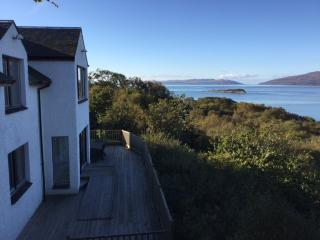 Amazing Sea Views Coastal Villa Nr Oban, Craobh Haven