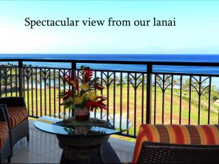 Spectacular Ocean & sunset view Penthouse suite at Beach Villas in Ko Olina, Kapolei
