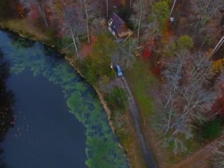 Cabin Drone View