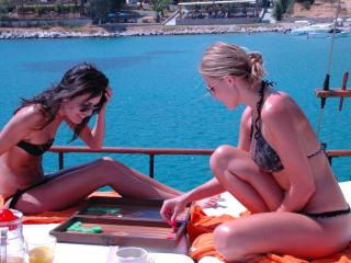 Miss Sally. The most Classy Motor Sailer in Greece, Mykonos-Stad