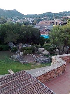 vista dal mio appartamento della piscina