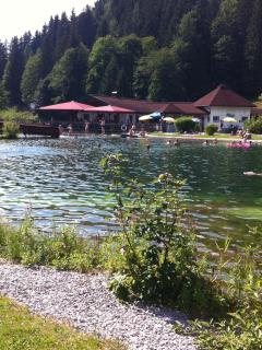 Austria may be land locked, but it makes up for it with lots of fresh water lakes