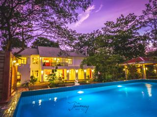THE JOURNEY POOL VILLA RENTAL THE RIVER KWAI/8BRs, Kanchanaburi