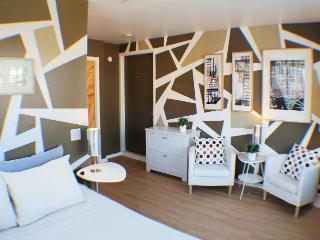 Cozy Time Square recreation space & bedroom, Nueva York