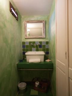 Torretta - Coin lavabo et wc