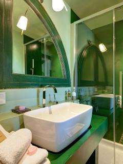Verte -Salle de bain