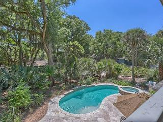 Great Vacation Home in Sea Pines with Private Pool & Spa & 4th Row Ocean