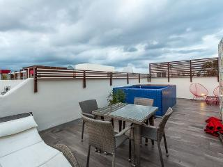Playa Vista - Central Location, Great Rooftop Terrace, Plunge Pool, Playa del Carmen