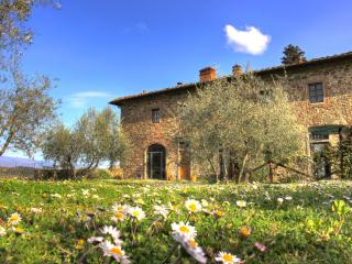 Stunning villa in in Chianti with pool, Il Glicine