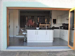 The kitchen is fully equipped, offering all that you need