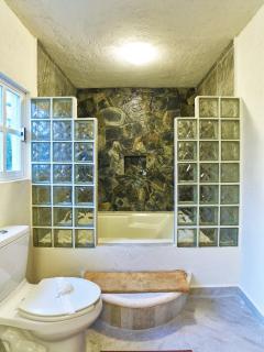 Loft Stone & marble bathroom