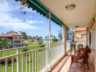 Modern 2BR Rio Grande Condo w/Wifi, New Furnishings & Ocean Views - Prime Location on Secluded Beach, Adjacent to El Yunque National Park & Rio Mar Wyndham Resort! Beach accessories provided!