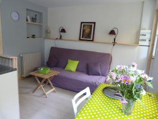 Pour cure et vacances appartement avec cour, Bagnères-de-Bigorre