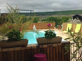 Suite Margaux avec accès piscine de 10m x 5m, Brugny-Vaudancourt