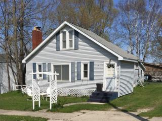 New Listing! Cozy 3BR Beulah Cottage w/Wifi & Private Backyard Entertainment Space - Within Walking Distance of Crystal Lake!
