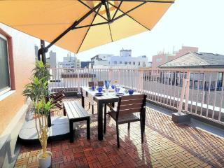 Amazing SKYTREE view Terrace Apartment+Free WIFI花火, Sumida