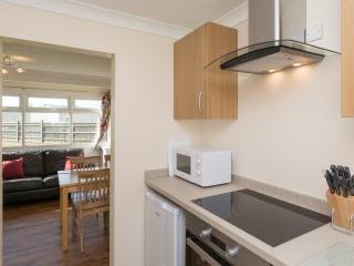 Modern open plan kitchen/dining/living area
