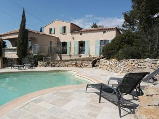Beautiful villa with panoramic view, La Cadiere d'Azur