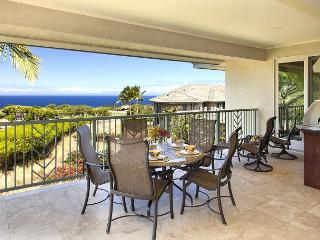 Waiulaula D201-OCEAN VIEWS/PLATINUM GOLF RATES, BBQ, FREE WIFI, TV with DVR