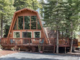 Spacious, Wooded Tahoe Cabin With Miles of Trails Outside Front Door