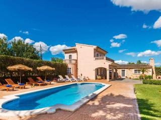 Mallorcan Finca Private Pool, Tennis, Gardens, Consell