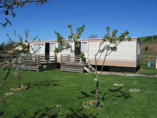 3 Bedroomed caravan, on a farm, not on a park, max 4 adults, Denbigh