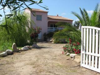 Villa avec vue mer à 200 m des plages, Sainte Lucie de Porto-Vecchio