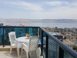 Holiday home with views of the sea of Galilee
