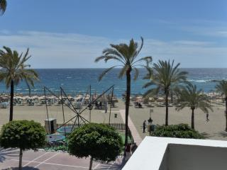 First line beach, side sea view, downtown, Marbella
