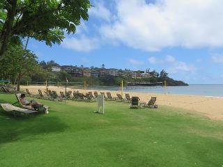 Pali Kai Studio B, Cozy with Rustic Charm, Ocean Bluff, AC, Marriott Resort, Lihue