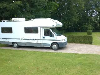 6 berth motorhome, Bratton Fleming