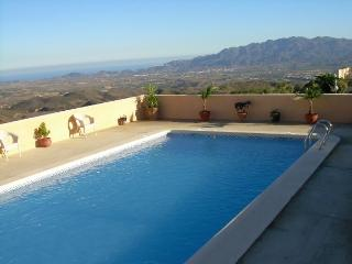 A two bedroom casita with private 10x5 pool with spectacular views