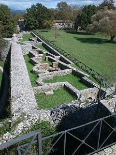 See Roman history in the middle of the countryside