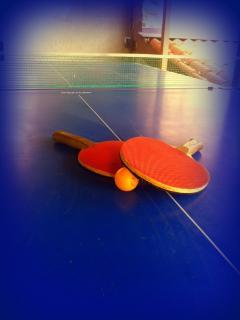 Immancabili sfide a ping pong