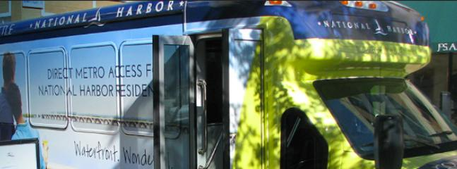National Harbor Free Shuttle ~ Runs Every Hour ~ We will Provide Schedule after booking