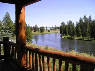 River Front Cabin near Yellowstone NP.  Sleeps up to 20.  Available Year Round