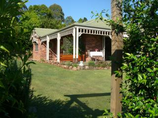 Your own private entry surrounded by lovely gardens