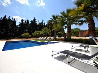 Private villa with pool, wifi and A/C in Mallorca, Sencelles