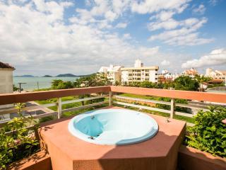 Apartamento de cobertura vista panorâmica da praia, Canasvieiras