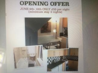 OPENING OFFER 5-12th June £55 per night, Cardiff